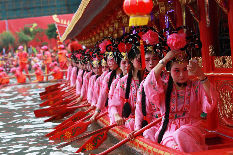 94dcd54a0 Photos, Images & Pictures of Chinese Dragon Boat Festival(people ...