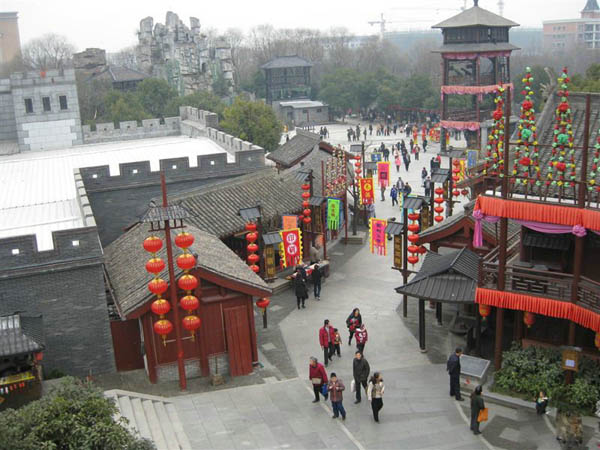 Photo, Image & Picture of Song Dynasty City Bird View