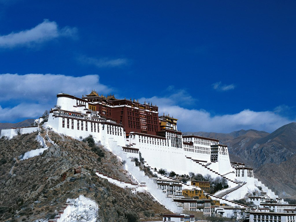 Lhasa Potala Palace Facts, History, Tibet China Travel & Tour Guide