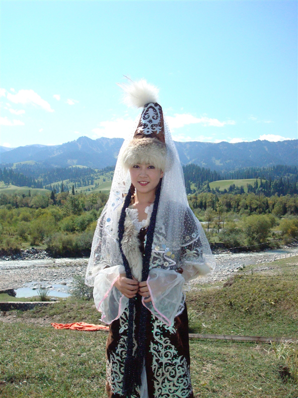 Photo Image Amp Picture Of The Xinjiang Kazakh Girl